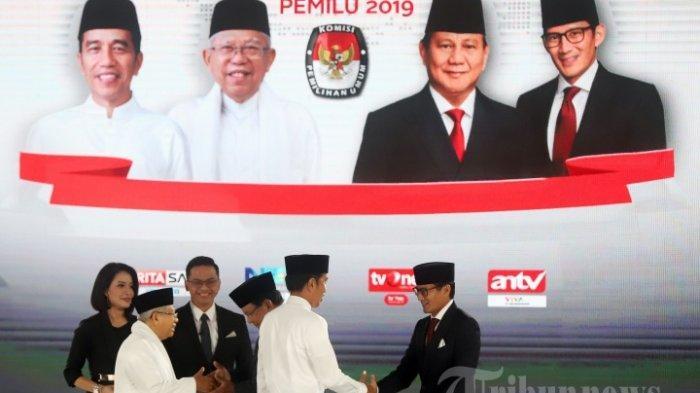 pemilu2019.kpu.go.id: Terbaru Hasil Real Count KPU, Prabowo Menang 16 Provinsi, Jokowi 18 Provinsi