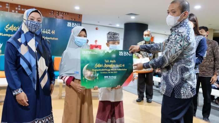 BNI Surabaya Gelar Safari Ramadhan dengan Program Lompat Lebih Tinggi Raih Keberkahan