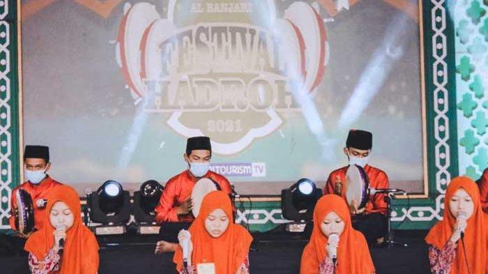 40 Grup Meriahkan Festival Hadrah Al Habsy Al Banjari untuk Semarak Ramadan di Kota Kediri
