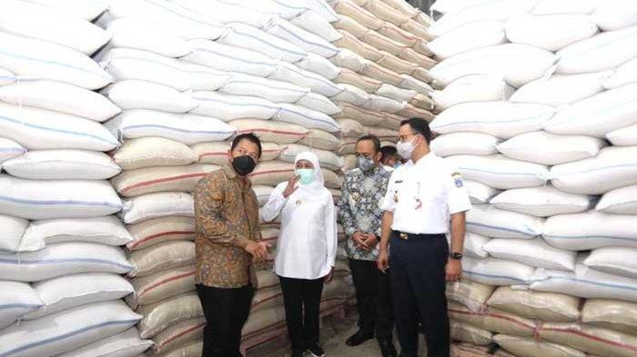 Beras Ngawi Diserap Pemprov DKI Jakarta untuk Suplai Pangan Warga Ibu Kota