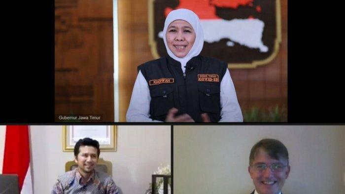 Jawa Timur Terapkan Ilmu Behavioural Science Dari Inggris Raya Untuk Adaptasi Kebiasaan Baru
