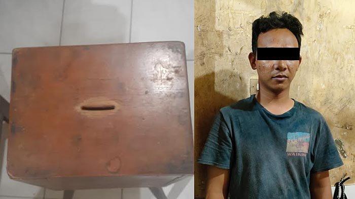Pemuda Asal Mojo Kidul Surabaya Curi Duit dalam Kotak Amal Masjid di Ngagel, Alasannya Buat Jajan