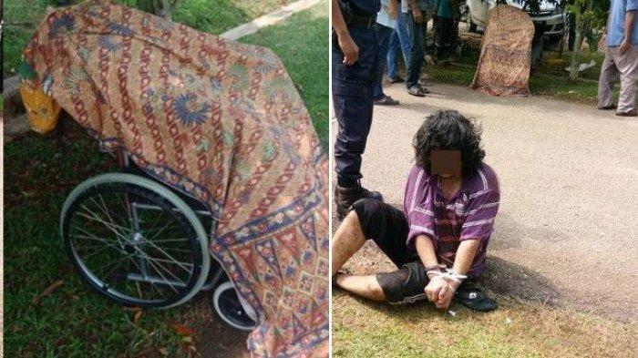 Pemuda ini Dorong Mayat Ibunya ke Warung Pakai Kursi Roda, Warga Takut, Ini 5 Faktanya