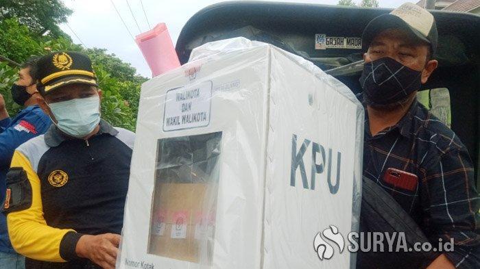 Besok, Coblosan Ulang Pilwali Surabaya 2020 di Kedurus Siap Digelar, Undangan ke DPT Sudah Disebar