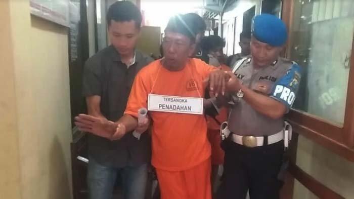 Polres Bangkalan Tangkap Pria Stroke yang Jadi Penadah Motor Curian