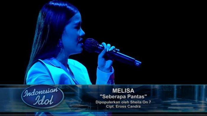 penampilan Melisa Hartanto di Spektakuler Show 5