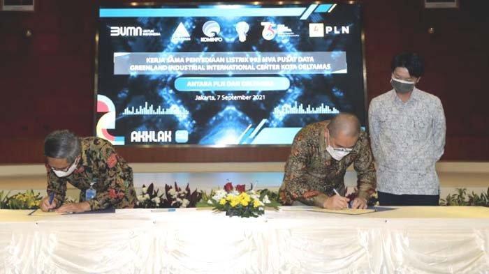 PLN dan GIIC Deltamas Kolaborasi Kembangkan Pusat Data Nasional Pertama di Indonesia