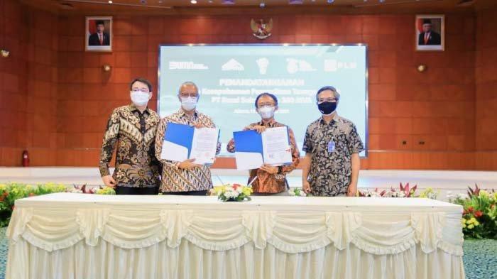 PT BSI dan PLN Sepakati Pengadaan Listrik 260 MVA