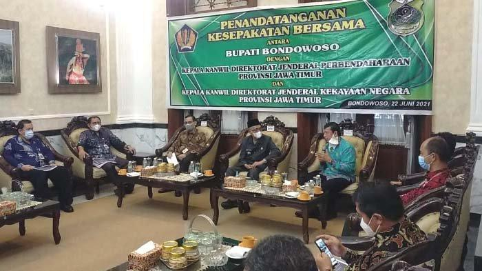 Pemkab Bondowoso Gandeng Kanwil Ditjen Perbendaharaan Negara Jatim terkait Pengelolaan APBN