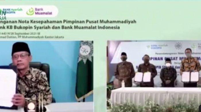KB Bukopin Syariah MoU dengan PP Muhammadiyah Pemanfaatan Layanan dan Produk Perbankan Syariah