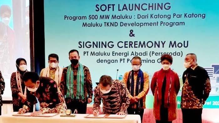 Pertamina Gas Dukung Program 500 MW Maluku dan Pengembangan TKND Maluku