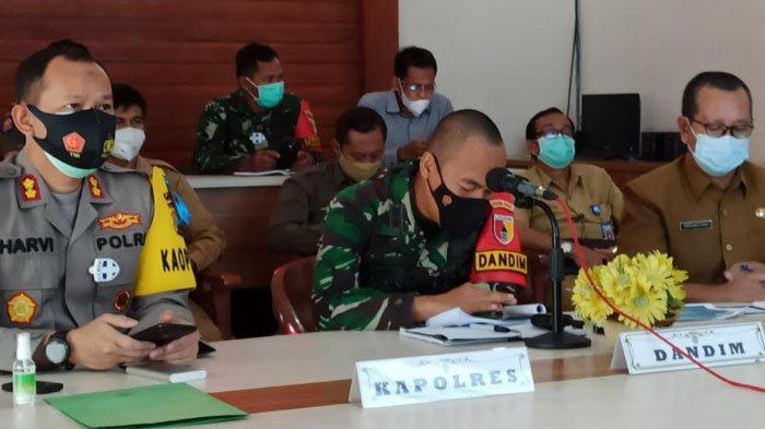 Rakor Evaluasi Pemprov Jatim, Penanganan Covid-19 di Kabupaten Nganjuk Sudah Berjalan Baik