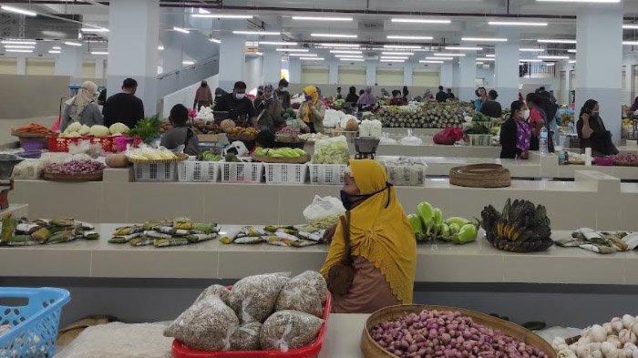 Pedagang Keluhkan Penataan Zona Berjualan Tidak Ideal, Banyak Lapak Pasar Legi Ponorogo Kosong