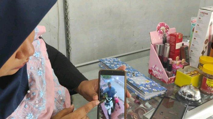 Amatiran, Pelaku Curanmor di Mojokerto Terekam Kamera CCTV; Polisi Bakal Mudah Melacak