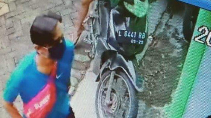 Maling Motor di Surabaya Tak Sampai Satu Menit Berhasil Gasak Honda Beat, Pelaku Dua Orang