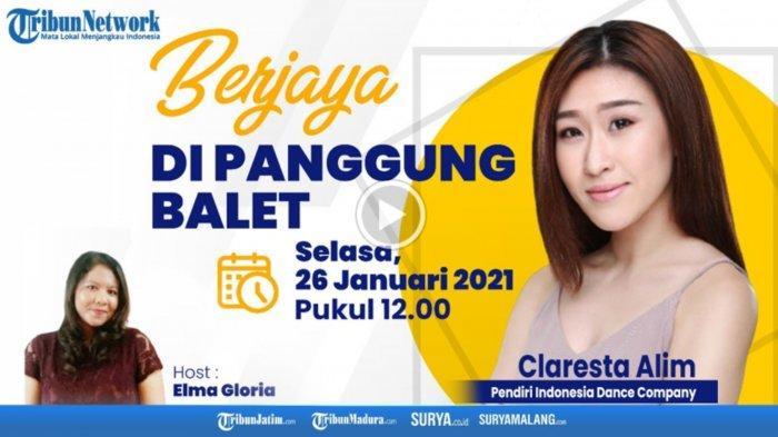 Claresta Alim, Sosok di Balik Indonesia Dance Company, Ternyata Asal Surabaya