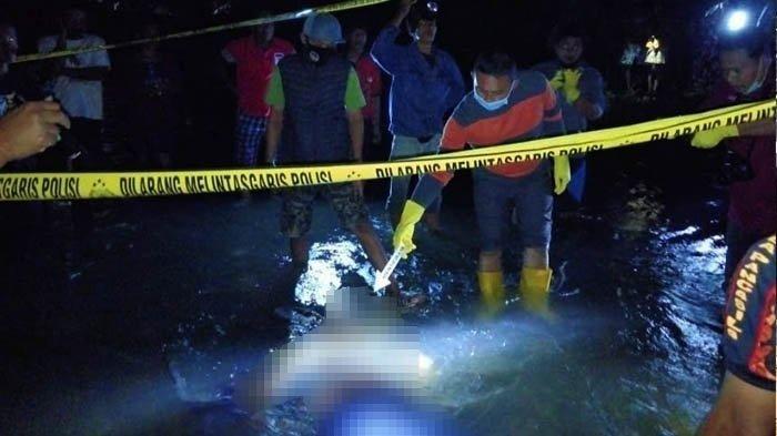 Diduga Terpeleset Saat Mancing, Pria di Blitar Ditemukan Meninggal Hanyut di Sungai Lahar