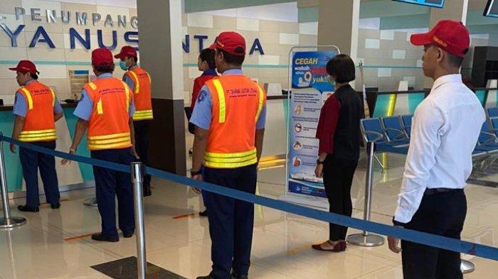 Cegah Penyebaran Corona, Pelindo III Terapkan Physical Distancing di Terminal Penumpang