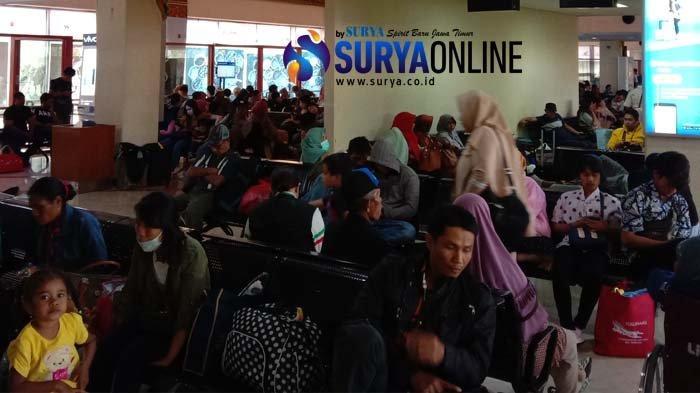 Ada Kabut Asap, Sejumlah Penerbangan ke Kalimantan di Bandara Juanda Mengalami Delay dan Pembatalan