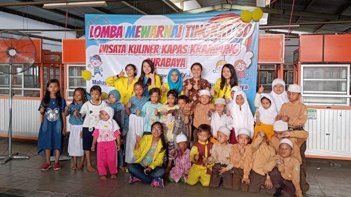 Cara Mahasiswa UKDC Surabaya Ramaikan Kawasan Wisata Kuliner Kapas Krampung yang Sepi