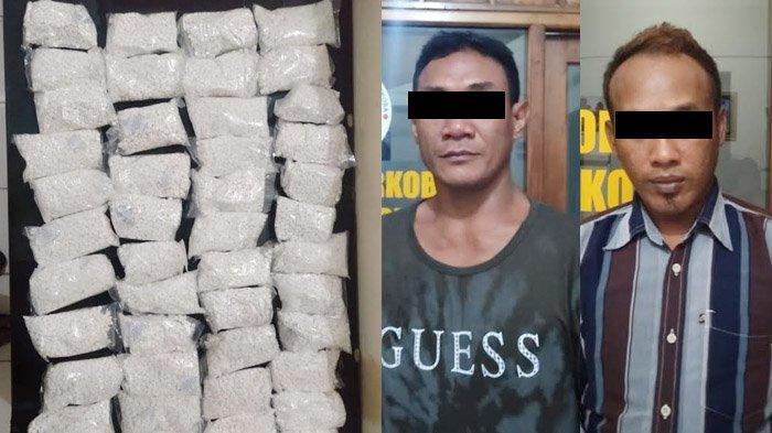 Polisi di Kediri Berhasil Ringkus Dua Pengedar Narkoba dengan Pil Dobel L Berjumlah Fantastis