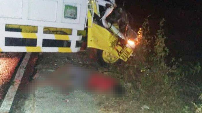 KRONOLOGI Kecelakaan Beruntun di Tuban, Pengemudi Tewas Ditabrak Dump Truknya Sendiri