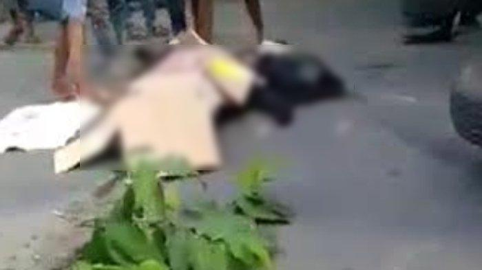 Kecelakaan Maut di Sidayu Kabupaten Gresik Renggut Nyawa Pengendara Sepeda Motor