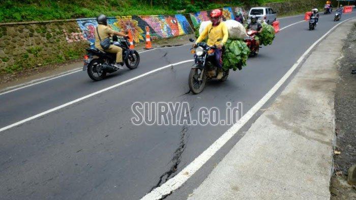 Antisipasi Longsor dan Jalan Retak, Sumur Pelega akan Dibuat di Kawasan Payung Kota Batu