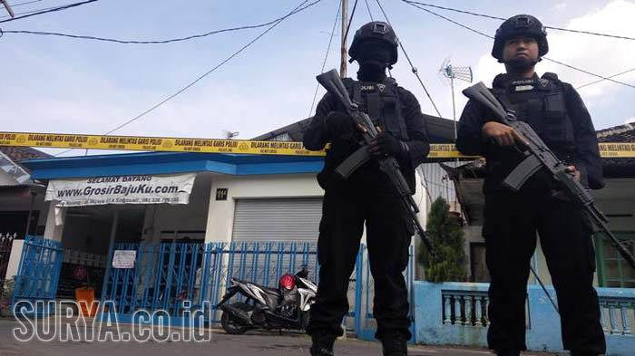 Aktivitas di Rumah Terduga Teroris Sahrul Kembali Normal, Istri Yakin Suaminya Tidak Bersalah