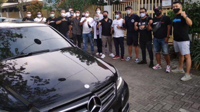 Bangkitkan Pariwisata. Komunitas Mercedes Benz W 204 Touring Keliling Jawa