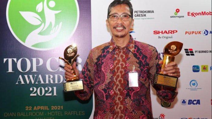 Bank Jatim Raih Dua Penghargaan pada Ajang TOP CSR Awards 2021