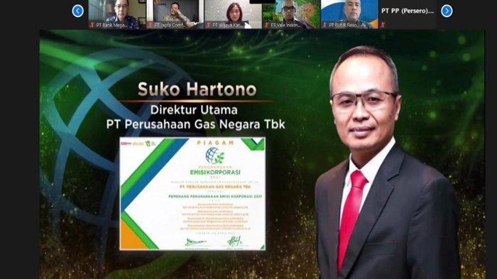 Berkomitmen Minimalisir Dampak Lingkungan, PGN Raih Penghargaan Emisi Korporasi 2021