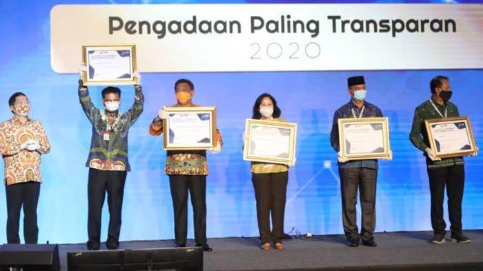 Kementerian Pertanian Raih Penghargaan Pengelolaan Barang dan Jasa Paling Transparan 2020