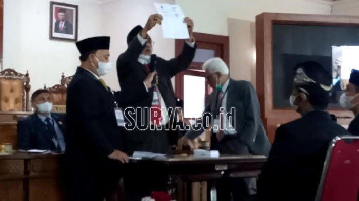 Gatut Sunu Wibowo Terpilih Menjadi Wakil Bupati Tulungagung, Unggul dengan 34 Suara