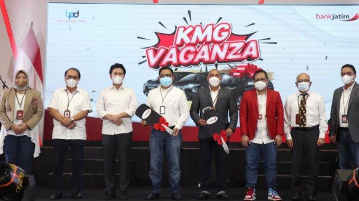 Bankjatim Undi 35 Unit Mitsubishi Xpander di Acara KMG Vaganza, Bentuk Apresiasi Nasabah