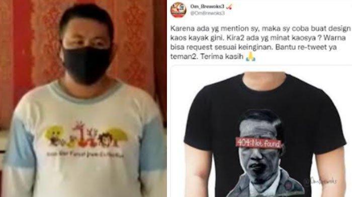 Beda Nasib Pembuat Mural Jokowi 404:Not Found dan Pria Tuban yang Mau Cari Untung dari Gambar Itu