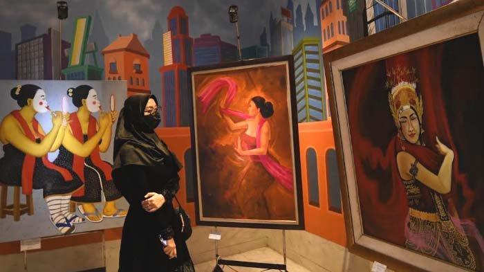 'The Spirit of Rama Shinta' Wujud Semangat Kasih Sayang Seniman Lukis Tanah Air
