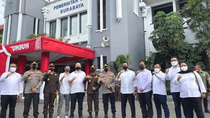 Vaksinasi Kadin Surabaya dan EO Disebut Terkendala Stok Vaksin, 31.832 Calon Penerima telah Daftar