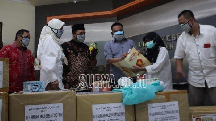 Partai Gerindra dan Bambang Haryo Serahkan Bantuan untuk Tenaga Medis ke Dinkes Sidoarjo