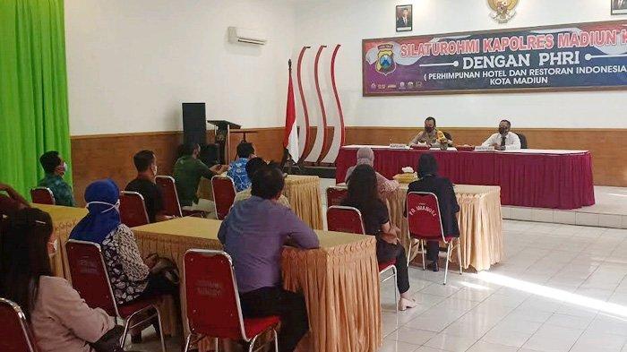 Kapolres Madiun Minta Hotel-Restoran Ikut Cegah Penularan Covid-19 selama Lebaran