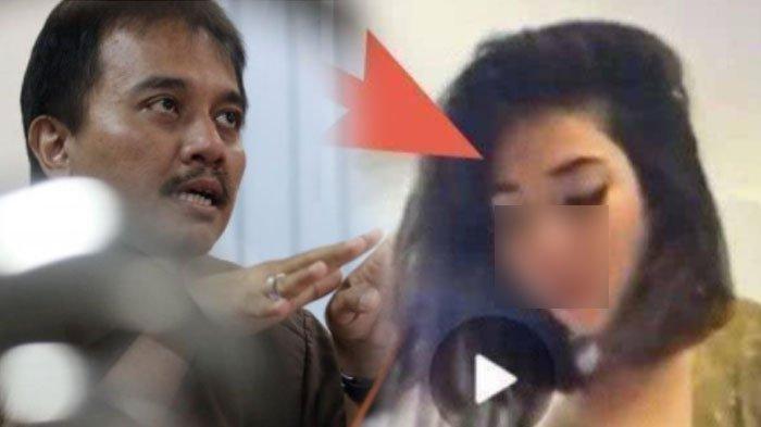 Roy Suryo (kiri) Gisel dalam video 19 detik (kanan). Penjelasan Roy Suryo soal video mesum Gisel yang viral
