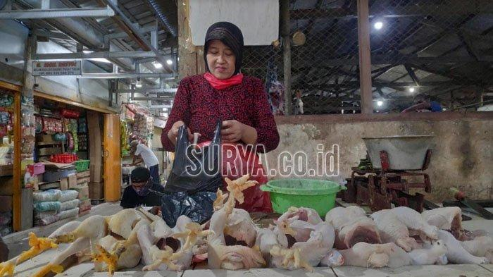 Jelang Lebaran 2021, Harga Daging Ayam di Kabupaten Tuban Merangkak Naik