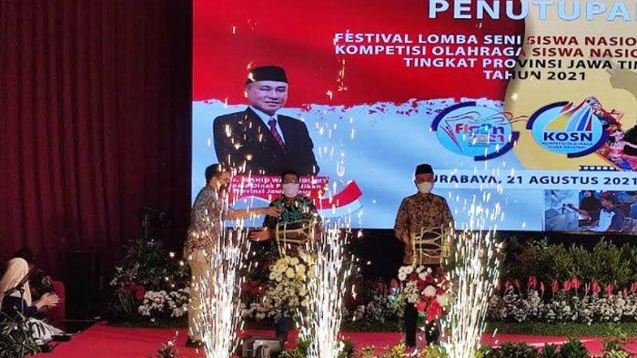 Festival Seni dan Olahraga SMK Jatim Berakhir, ini Target Dindik Jatim pada FLS2N dan KOSN Nasional