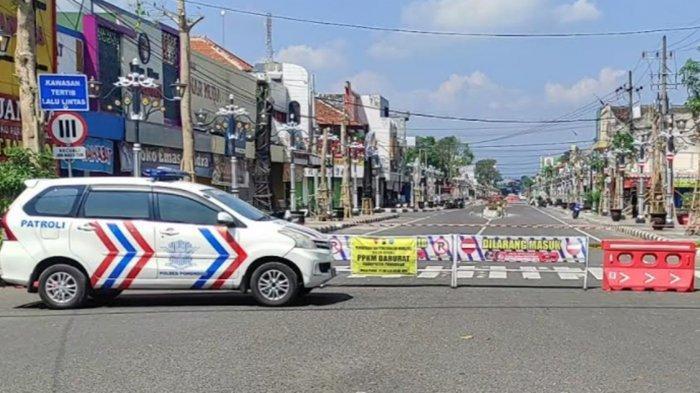 2 Jalan Utama di Ponorogo Ditutup 24 Jam Setiap Hari Minggu Selama PPKM Darurat
