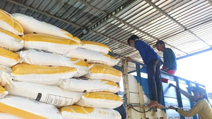 Berikan Pelayanan Prima, PTPN X Salurkan 876 Ton Pupuk Nonsubsidi kepada Petani Binaan