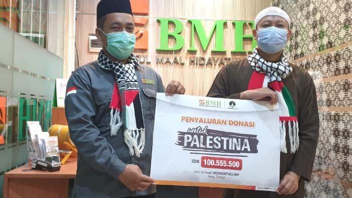 Laznas BMH Jatim Salurkan Bantuan untuk Palestina