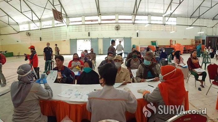 Bansos Tunai Dari Kemensos Untuk Warga Surabaya Mulai Dikucurkan
