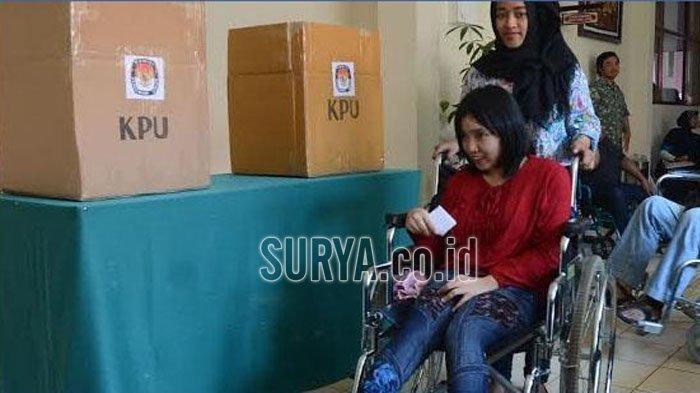 Ini Cara KPU Kabupaten Malang Fasilitasi Hak Suara Pemilih Disabilitas di Pilkada 2020