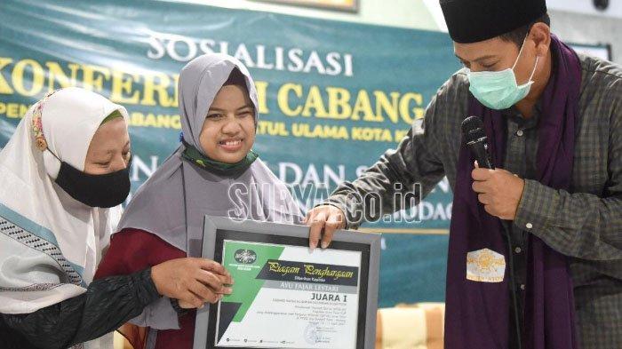 Wali Kota Kediri Beri Apresiasi Remaja Penyandang Disabilitas Penghafal Al Quran