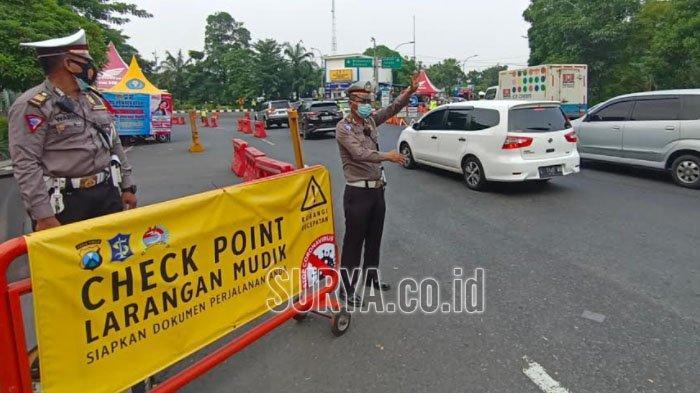 Info Penyekatan di Surabaya: Diperpanjang hingga 31 Mei 2021, Ini Syarat Lolos Pemeriksaan Petugas